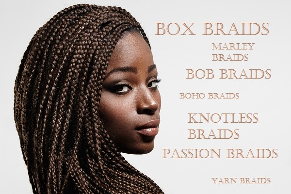 Coiffure de protection : les box braids