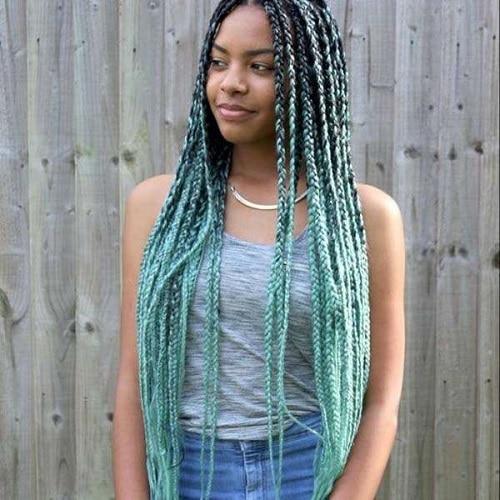 Les Yarn braids confectionnées avec de la laine